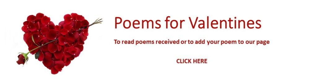 Community love poems for Valentine's Day